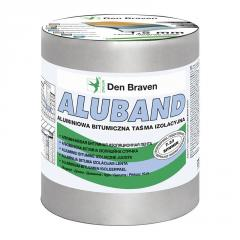 The tape Aluband is aluminum and bituminous,