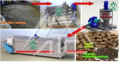 Equipment for manure processing