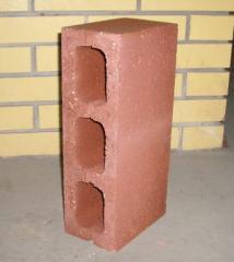 Блоки стеновые цементные. Строительный блок