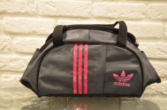 Sports bag of Adidas (Adidas) M-530 model. (Gray +