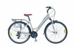 """Велосипед Leon SIESTA 2014, рама 18"""" бел."""