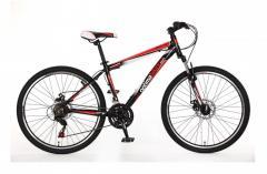 "Велосипед OptimaBikes 2015, рама 16""; 18""; 20"" чёрно-красный"