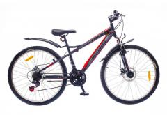 "Велосипед Discovery 26 Trek DD 2016, рама 15""; 18"" черно-серо-зеленый"