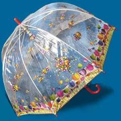 Зонт детский прозрачный трость Zest 2