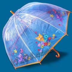 Зонт детский прозрачный трость Zest 3