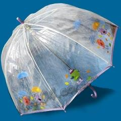 Зонт детский прозрачный трость Zest Механический 2