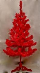 Ель искуственная красная цветная 150 см. в...