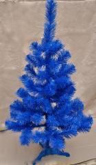 Ель искуственная синяя цветная 130 см. в...