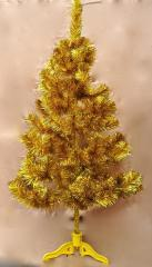 Ель искуственная золотая цветная 150 см. в...