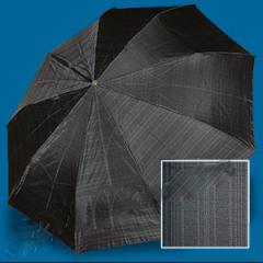 Зонт мужской Zest автомат 3-сложения, клетка. art.13953