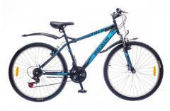 "Велосипед Discovery 26 Trek 2016, рама 15""; 18"" черно-серо-зеленый"