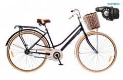 """Велосипед Dorozhnik Comfort FeMale 2016, рама 19"""" коричневый 2"""