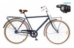 "Велосипед Dorozhnik Comfort Male 2016, рама 20"" синий 2"