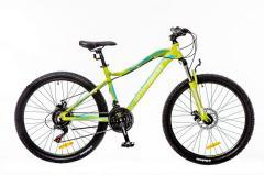 """Велосипед OptimaBikes Alpina 2016, рама 16"""" зеленo-белый м"""