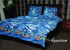 Постельное белье двухспальное Aquarium Аквариум