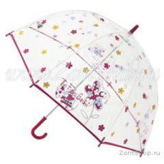 Зонт детский прозрачный трость Zest Механический 4