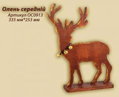 Decorative figure Deer average. NOVELTY of 2013