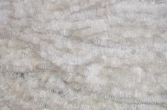 Мишура белый + серебро, длина 1.5м, диаметр 100мм .