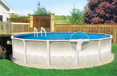 Frame pool Esprit Series, Wood model
