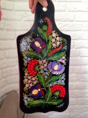 Decorative chopping board. Average (36х17 cm)