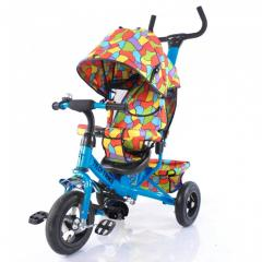 The bicycle children's three-wheeled with a