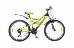 "Велосипед Formula Berkut 2015, рама 18"" черно-зелен."