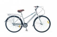 """Велосипед Leon SOLARIS LADY 2014, рама 17"""" бел."""