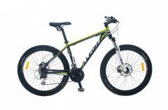 "Велосипед Leon XC 75 2014, рама 17""; 19"" черно-зелен."