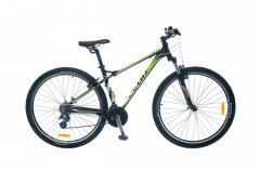 """Велосипед Leon TN 85 2014, рама 16""""; 18"""" черно-зелен."""