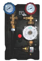 Pump group NOVAGRME for systems of heating,