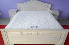Bed from a natural ash-tree - Ash, 220kh200sm