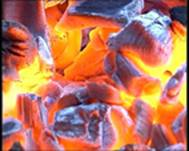 Уголь древесный из твердых пород древесины