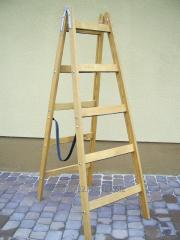 Modular step-ladder on 5 steps.