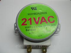 Мотор вращения поддона микроволновки универсальный, код 05.0203