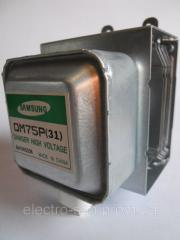The magnetron for the Samsung OM75P 31 Microwave