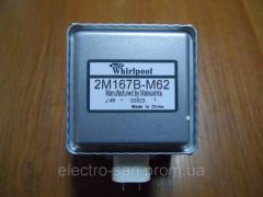 The magnetron for the Whirlpool 2M167B-M62