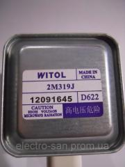 The magnetron for the Witol 2M319J microwave oven