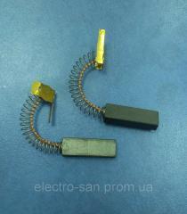 Щетки для электромоторов пылесоса пружинные 10х5