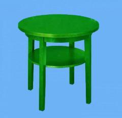 Столик круглий