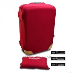 Cover on Coverbag suitcase red M