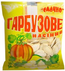 Pumpkin sunflower seeds fried in packaging,