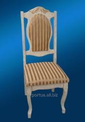 餐椅帶襯墊的座位