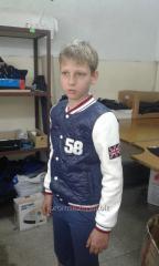 Jacket bomber jacket.
