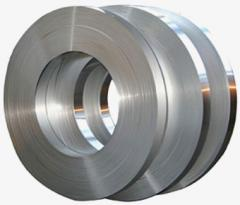 Strips made of stainless steel