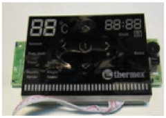 Плата управления ID сенсорная с дисплеем для бойлера ТЕРМЕКС