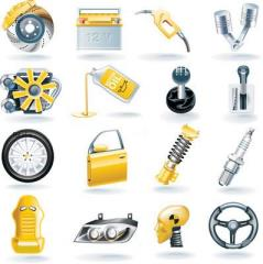Household appliances in assortment.