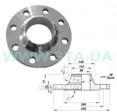 Фланец стальной воротниковый 50 мм ГОСТ 12821-80 PN63