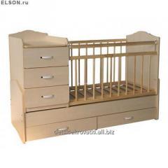 Beds - Wooden children's beds, the wooden