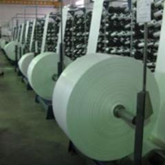 Fabrics made of polypropylene