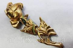 Роза 6.08      225*90мм золото